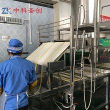 泉州腐竹机生产厂家 做腐竹的机器规划厂房 自动豆腐皮加工机械