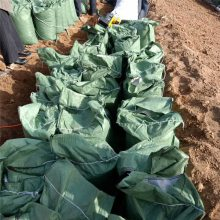 草籽生态袋在内蒙古公路护坡的垒砌方式