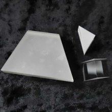 蓝宝石棱镜蓝宝石配件蓝宝石光学玻璃 透镜