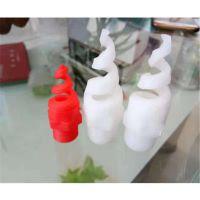 白色PP螺旋喷嘴 防堵塞螺旋喷嘴喷头 脱硫塔专用 品牌华庆