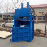 保定废纸垃圾压缩机 油桶打包机使用视频 可试机纸箱压包机科博