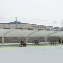 膜结构自行车车棚-膜结构-创锦帆装饰