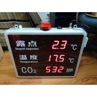 上海发泰FT-TDWC823B露点温度二氧化碳显示屏,固定式露点仪