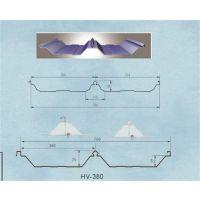 杭州0.6mm厚屋面彩钢板YX51-380-760型彩钢瓦厂家