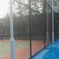 专业生产篮球场护栏网 滑雪场防护网 浸塑护栏网