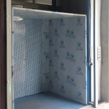 内蒙古液压升降货梯厂家 四层室外载货货梯 电动升降平台 实体工厂
