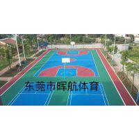 贺州篮球场防滑漆 崇左丙烯酸球场地面包工包料造价