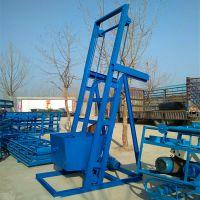 定做不锈钢单斗提升机 肥料颗粒翻斗提升机 单斗提升机生产厂家qk
