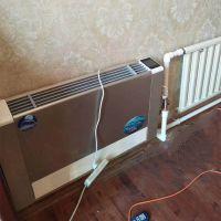冬季家庭取暖用艾尔格霖立式明装风机盘管 落地式明装风机盘管