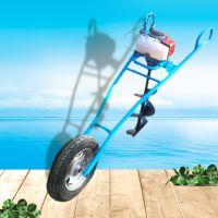 亚博国际真实吗机械 汽油挖坑机 植树挖坑机 四冲程手提挖坑机 独轮挖坑机 价格