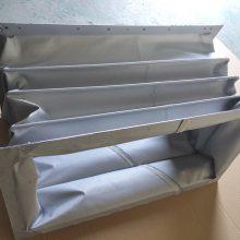 广纳防腐蚀风筒软连接 耐高温硅胶布软连接 耐磨帆布伸缩软连接 硅钛布阻燃软连接