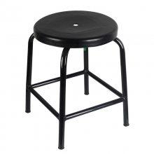 防静电圆凳 防静电凳子发泡四脚圆凳美甲吧台椅车间流水线工作凳实验室圆凳子