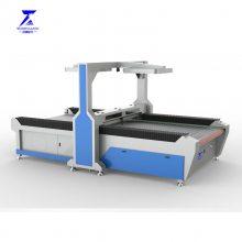 佛山顺德软体沙发电脑裁剪机 自动送料激光切割机型号1630多少钱一台