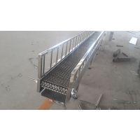 陕西金属网带输送机 提升爬坡输送