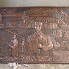 安徽鸿腾雕塑有限公司(图)-铸铜雕塑加工-合肥铸铜雕塑