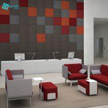 苏州格丽室常年供应24mm聚酯纤维吸音板隔音板消音板墙面装饰材料
