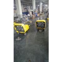 供应水泥场地研磨吸尘一体机 变频电机的地坪打磨机 12个头打磨效率更高 邯郸地坪打磨机报价
