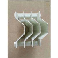 脱硫塔高温聚丙烯除雾器 圆形PP除雾器 叶片形状为类似正弦曲线 品牌华庆