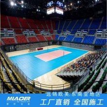 羽毛球运动木地板上海生产厂家体育球场机械