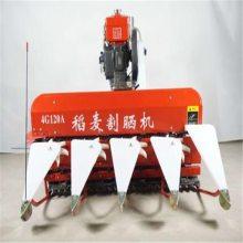 驰航机械 汽油柴油动力可选宽幅可定做 小麦谷子收获机 新型芝麻收割打捆机