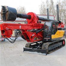 直销20米深履带旋挖钻机 大口径建筑地基钻孔机
