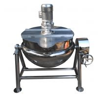 洋姜四季豆煮锅夹层锅 炸肉炸鸡锅夹层锅 倾斜出料夹层锅
