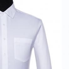 贵州男士衬衫,***长袖村衣,免烫男衬衣,行政商务村衣订做批发,GY5077白色全棉衬衣