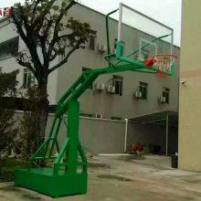 长沙篮球架 室外标准篮球架 户外可移动凹箱篮球柱安装