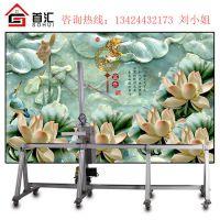 户内外高清墙体打印机广告墙体彩绘喷绘机3D背景墙壁墙面绘画机
