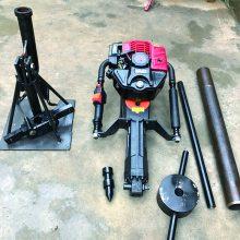 全国发货便携式土壤采集器 冲击式取土钻机 手持式取土钻机