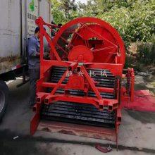 菏泽半夏收获机 滚筒式药材挖掘机 中药材采挖机 转筛式药材起挖机售价