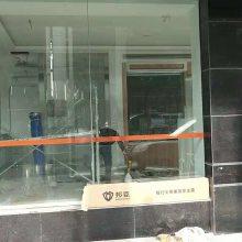 银行透明防爆膜 银行钢化玻璃膜 银行玻璃防爆膜-邦臣银行防爆膜安全防弹膜