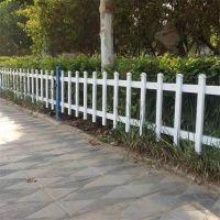 仿木桩草坪护栏 仿木塑钢围栏 塑钢草坪围栏厂家