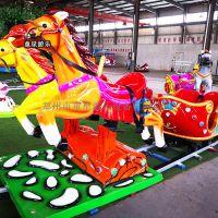 12人欢乐跑马童星游乐场儿童新型游乐设备童趣十足