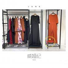 广州雪莱尔服饰19新款秋冬品牌威婭纪折扣女装进货渠道