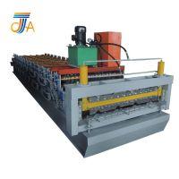 全自动墙面板设备 屋顶瓦机器 840-850型双层彩钢板压瓦机taln
