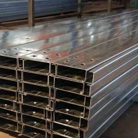 供应上海钢结构120*50*20檩条C型钢热镀锌Q235B冷弯异形钢