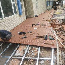 室外防腐木地板工程-北京防腐木地板-安徽省德林贵有限公司