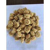 芝麻味坚果燕麦酥生产设备 燕麦棒食品膨化机