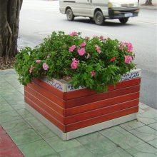厂家生产防腐木花箱园林花箱FX-067