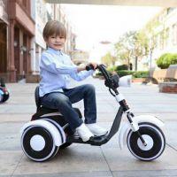家庭宝宝宝贝儿童玩具大哈雷电动摩托车灯光早教音乐仪表盘