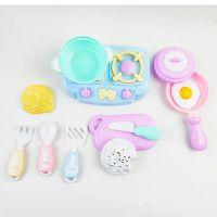 儿童过家家玩具过家家餐具乐佳宝梦幻厨房系列988-8袋装卡通餐具