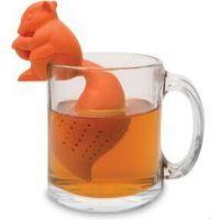 定制硅胶用品硅胶泡茶器 松鼠泡茶器 乌龟茶漏 茶叶商礼品
