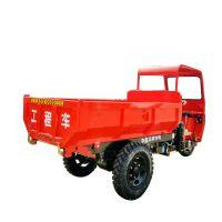 湖北直销狭窄路行驶翻斗自卸车 液压自卸的工程三轮车价格
