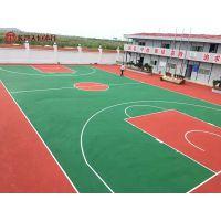 湘西南昌硅pu塑胶篮球场 网球场地面材料 塑胶羽毛球场造价