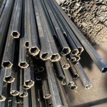 山东聊城异型管定做厂家%冷拉P型装饰管 #平口椭圆异型钢管厂家