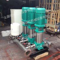 德国威乐水泵COR-3MVI207别墅专用泵组WILO无负压供水设备离心泵