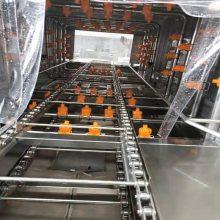 食品周转筐子清洗机 塑料筐子杀菌清洗机 全自动洗箱机 洗筐机