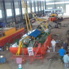 小型射吸式抽沙船出口印尼-启航疏浚