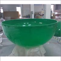 定制有机玻璃圆球 透明灯罩 半圆球罩子 乳白色罩子